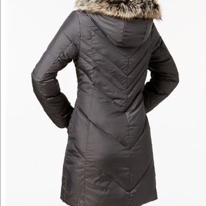 BLACK London Fog Puffer Coat